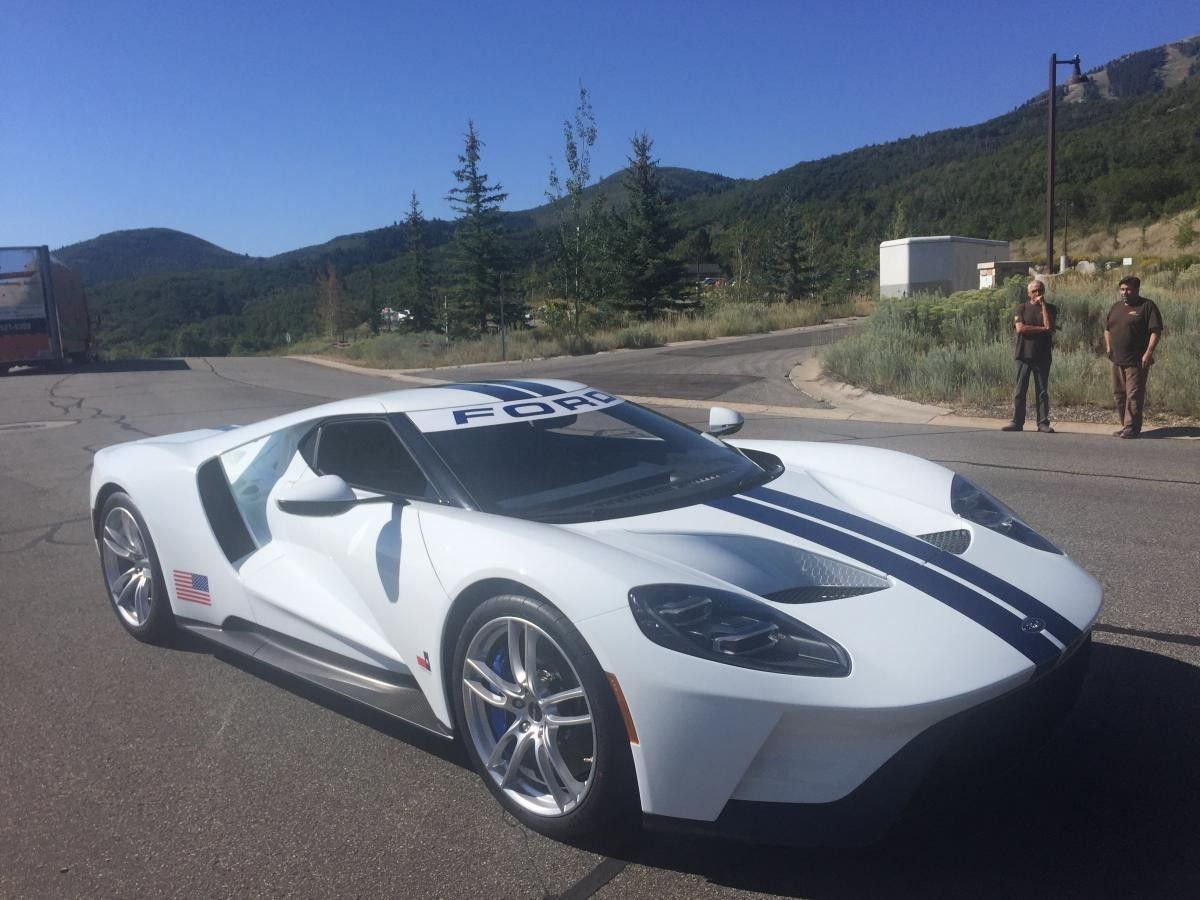 2017 Ford Gt Frozen White Ford Gt Ford Gt 2017 Super Sport Cars