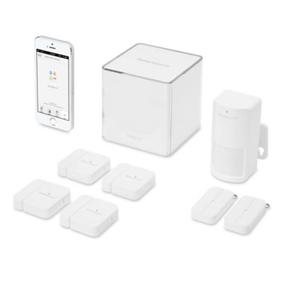 iphone controlled self install home security system with no monthly charge 250 around the. Black Bedroom Furniture Sets. Home Design Ideas