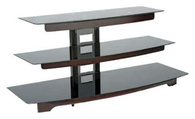 the latest 29ff0 6b9df Buy Oak and Black Glass 55 Inch TV Stand at Argos.co.uk ...