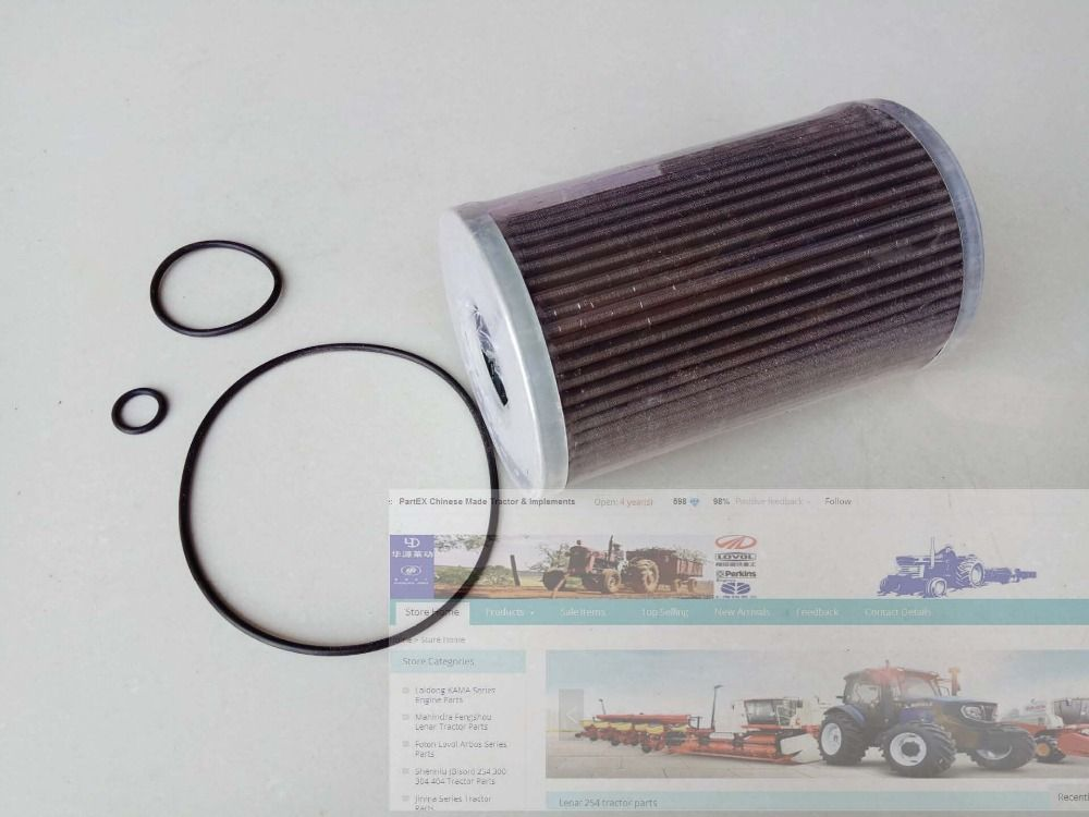 Yto Tractor Parts The Oil Filter Of Hydraulic Part Number Xlyq 017 1 Tractors Oil Filter Filters