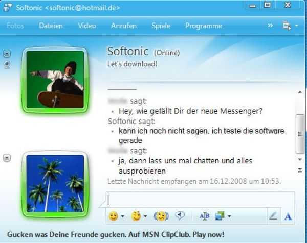 Download MSN Messenger for Free - Windows PC Computer