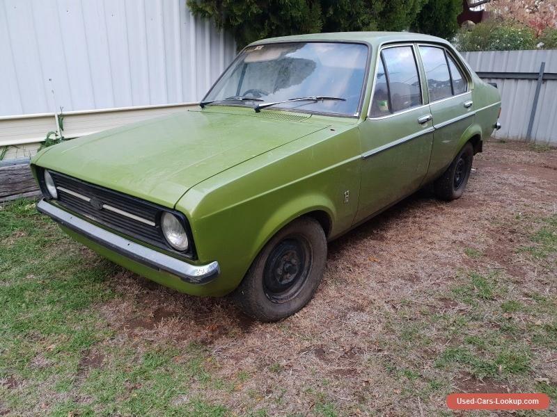 Ford Escort 1.3L sedan Manual 4spd #abarth #forsale #australia