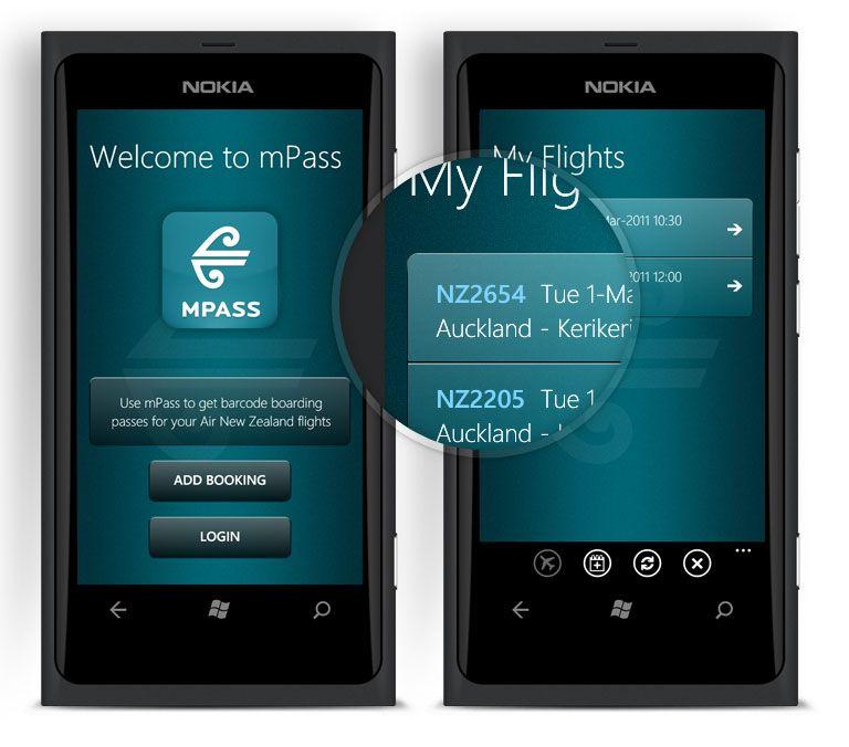 Air New Zealand mPass | Digital | Air new zealand, App
