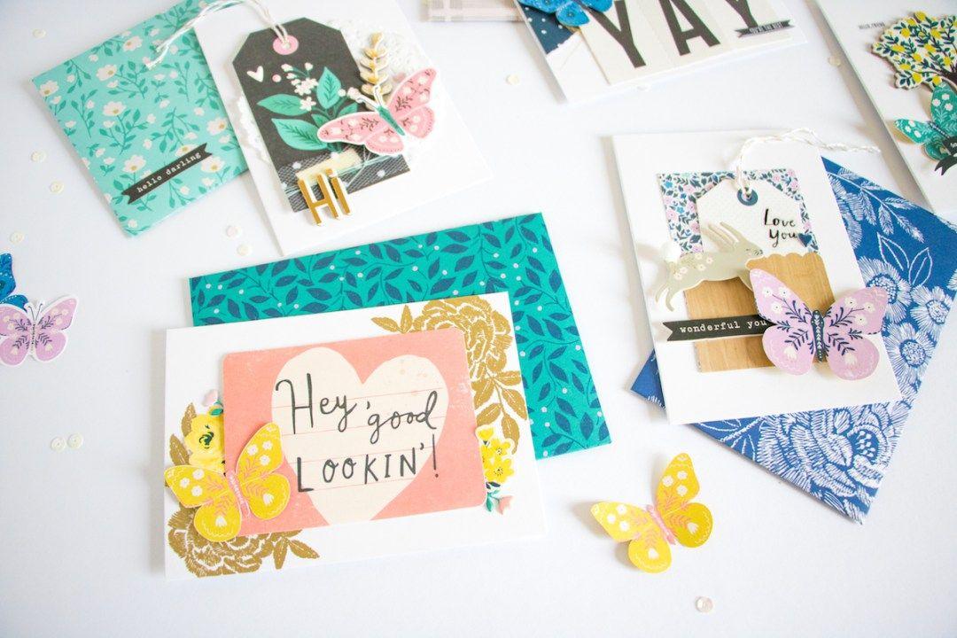 pretty cards  envelopes diy » maggie holmes design  diy