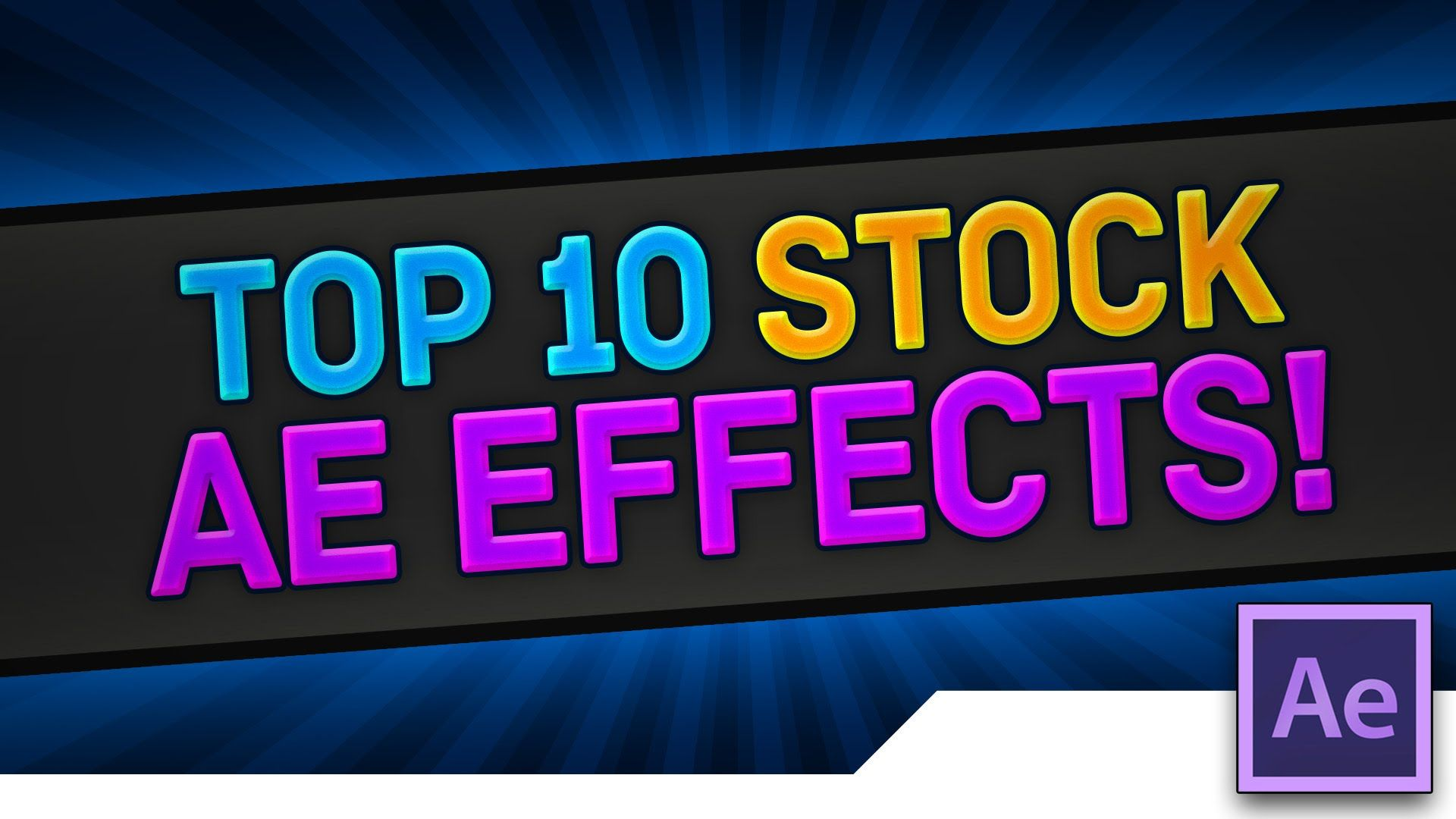 [TUTORIAL] TOP 10 Underused INTRO Effects, Presets and