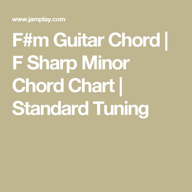F#m Guitar Chord   F Sharp Minor Chord Chart   Standard Tuning ...