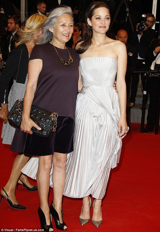 Marion Cotillard And Her Mother Wow Cannes With Glamorous