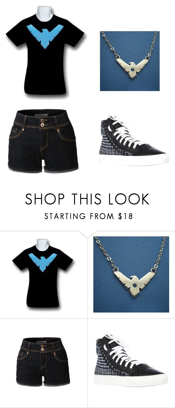 """""""Japan #35"""" by kreepykitten ❤ liked on Polyvore featuring LE3NO and STUDSWAR"""
