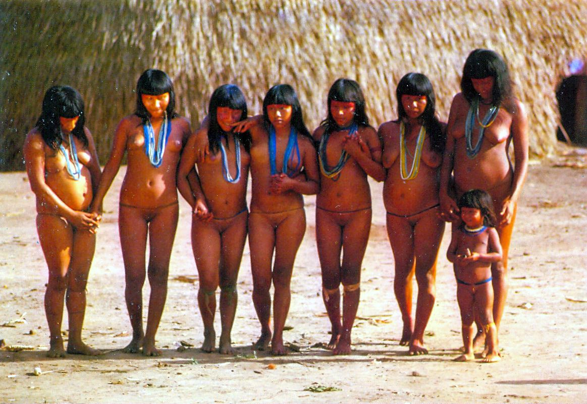 nude brazilian tribal women