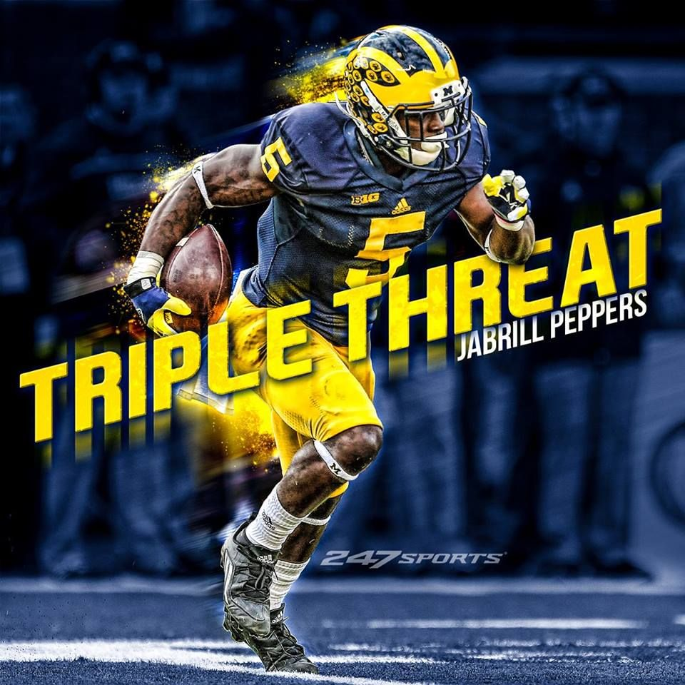 premium selection 06f87 1bcec Michigan Wolverines: Jabrill Peppers | MY University of ...