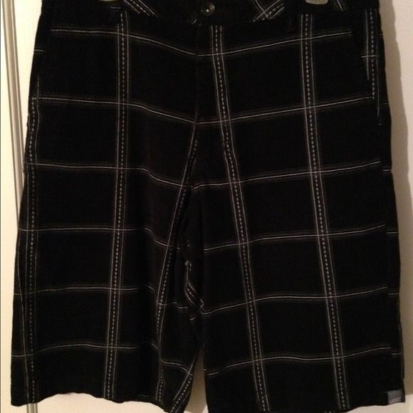 5886dcd632 Men s shorts-Vans Vans men s shorts. Never worn. Black and gray corduroy.  Size 32. Inseam measures 12