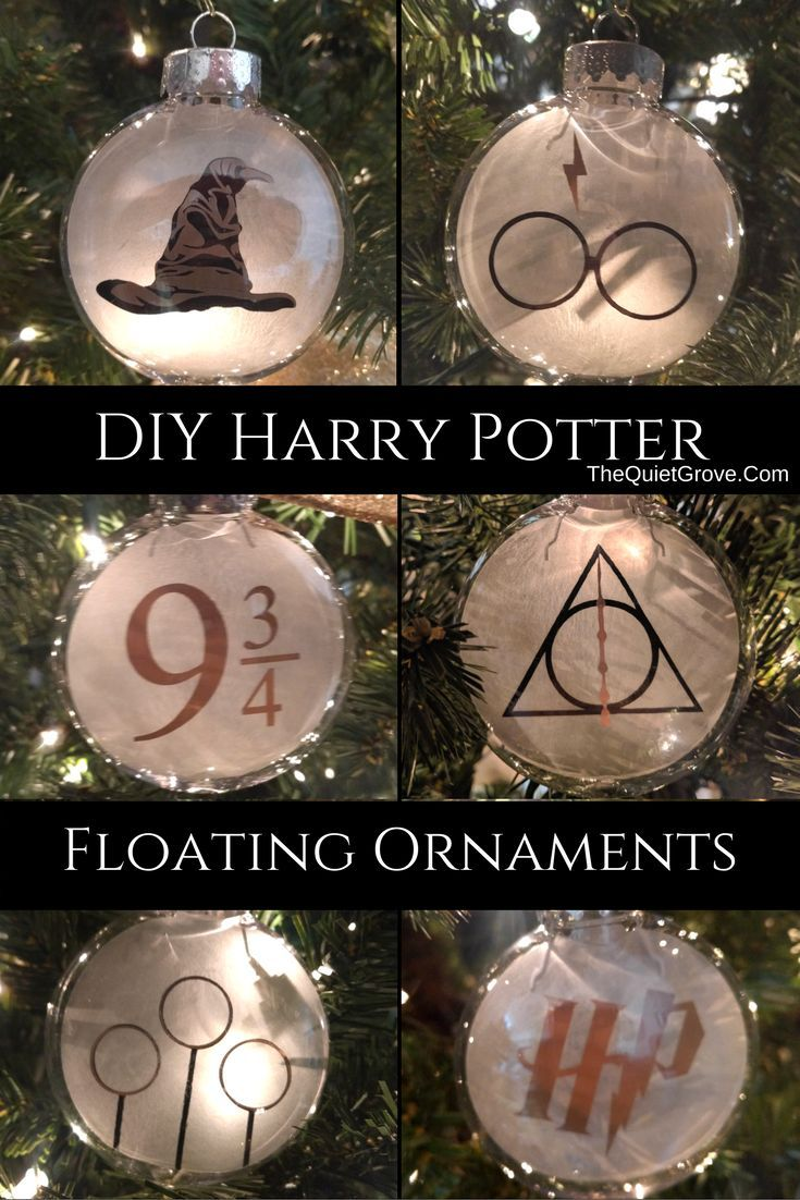 DIY Harry Potter Floating Ornaments (With images) Harry