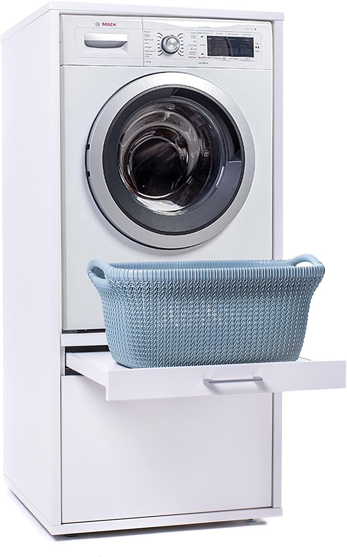 20 x Waschmaschinenschrank   Der Waschturm   Doppelschrank mit ...