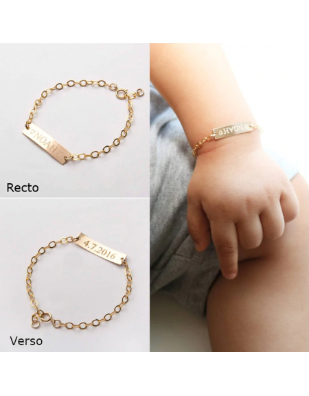 bracelet couple a graver