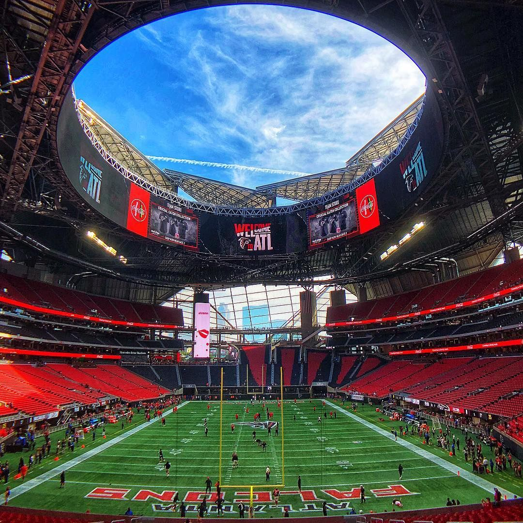 Mercedes Benz Stadium On Instagram Riseup Mbstadium Atlanta Stadium Mercedes Benz Benz