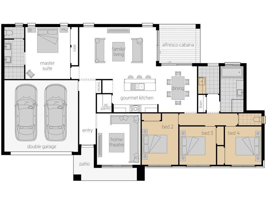 The Eaton Corner Block House Design Mcdonald Jones Homes Mcdonald Jones Homes House Design House Plans