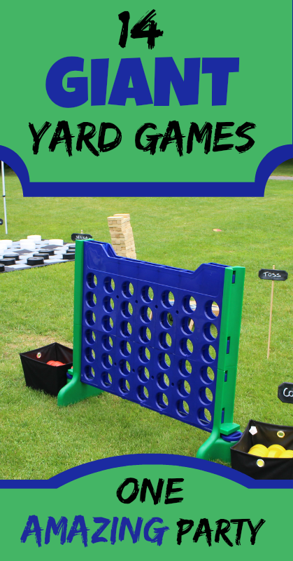 Diy 14 Giant Yard Games For One Amazing Party Giant Yard Games