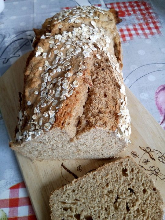 Brot ohne Hefe mit Malzbier #kochenundbacken