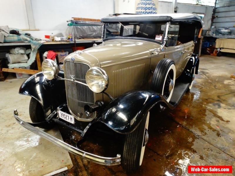 1932 Ford Deluxe Phaeton - Low miles #ford #forsale #australia ...
