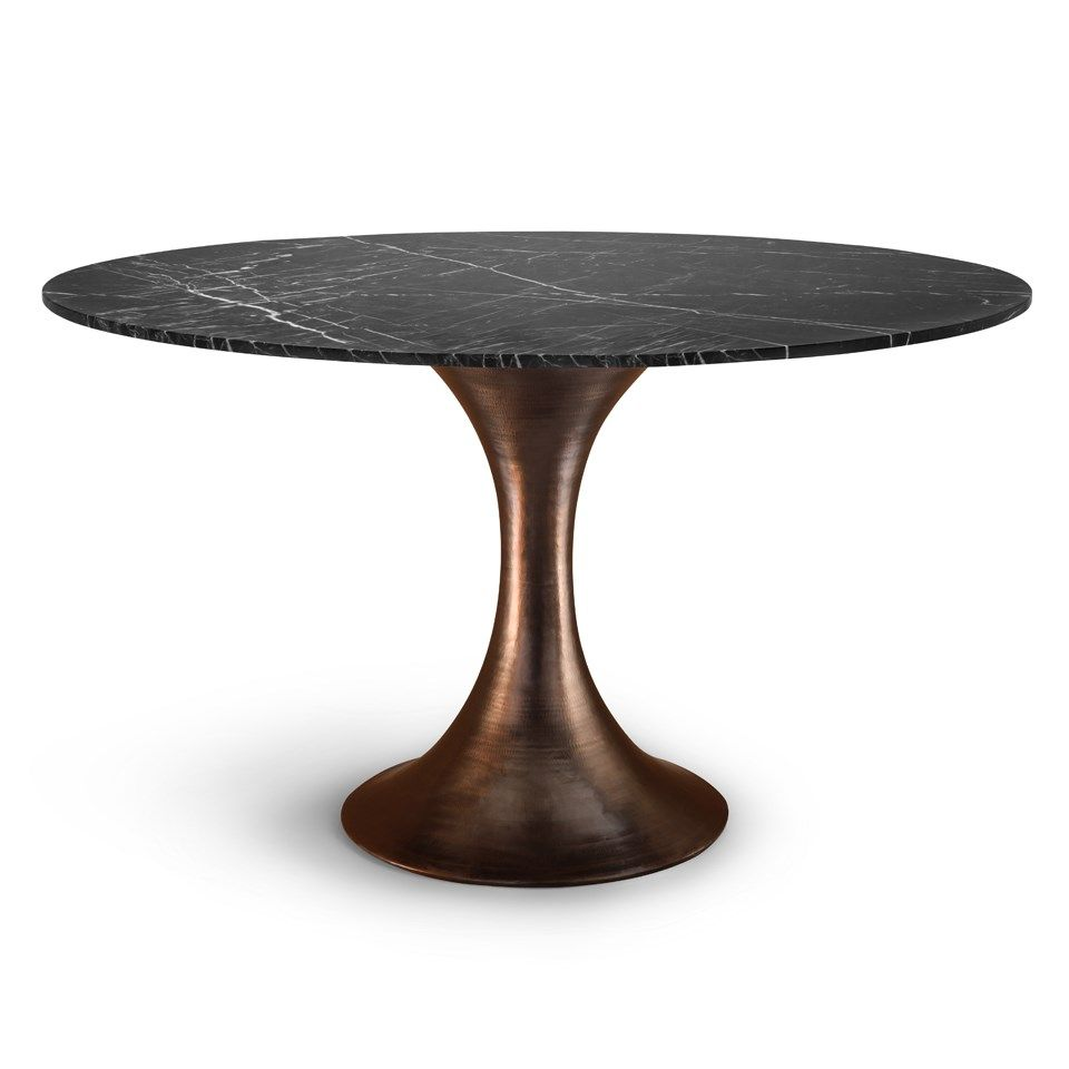 Exceptional Stockholm Dining Table Base (Top Sold Separately), Bronze   Bungalow 5