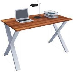 Photo of Vcm my office Lona Schreibtisch nussbaum rechteckig
