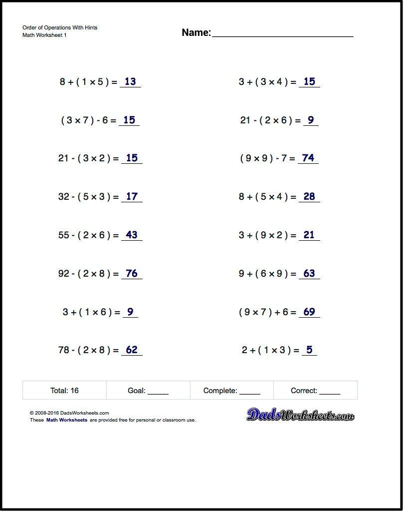 Pin on Math Worksheets [ 1025 x 810 Pixel ]