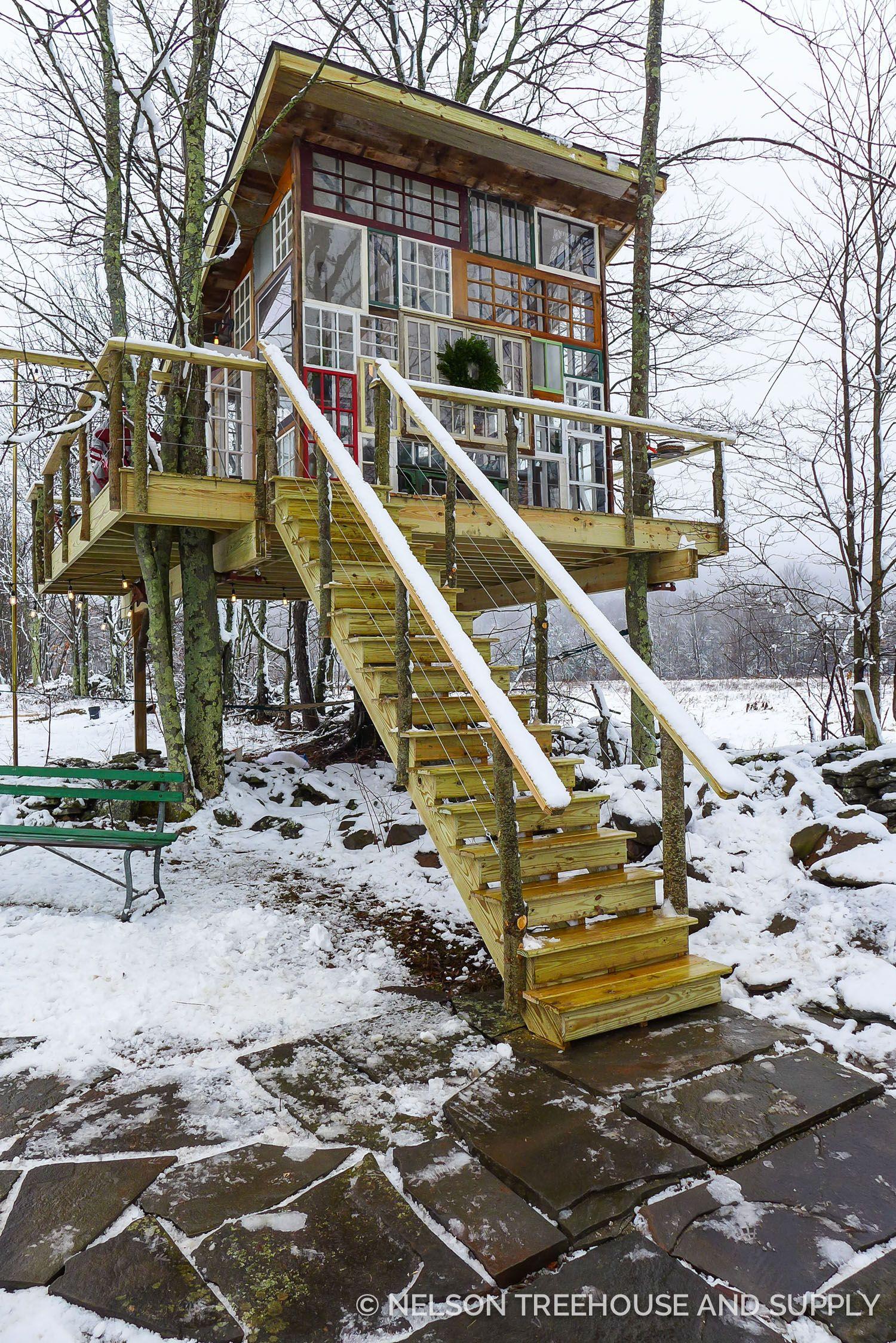Catskills Glhouse Treehouse Masters Season 8 Pete Nelson