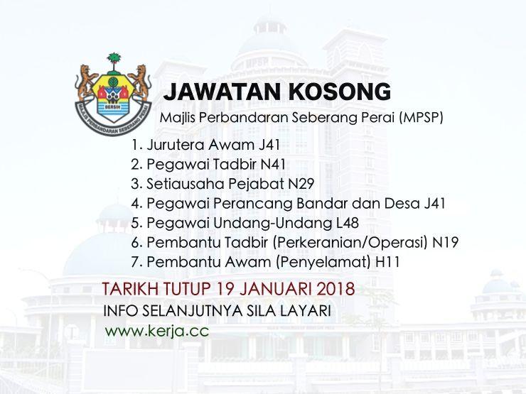 Jawatan Kosong Kerajaan Terkini Di Majlis Perbandaran Seberang Perai Mpsp Januari 2018 Jawatan Kosong Mpsp Januari 2018 Jawa Words Word Search Puzzle Perai