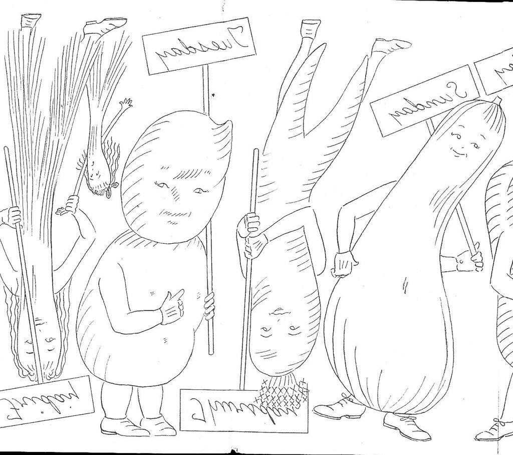 veggie protester 2