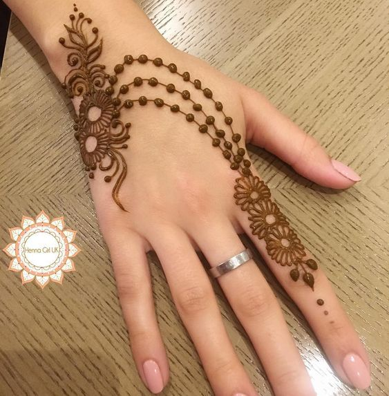 Cool Henna Designs For Girls: Minimal Mehendi Designs To Watch Out For This Season