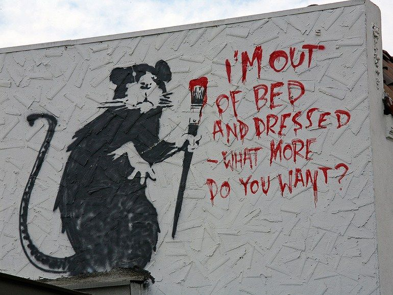Photos: Banksy's Street Art Around the World