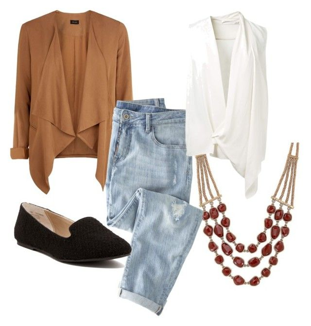 """""""Sin título #8"""" by m8padilla on Polyvore featuring moda, Lucky Brand, Wrap, Victoria Beckham y Abound"""