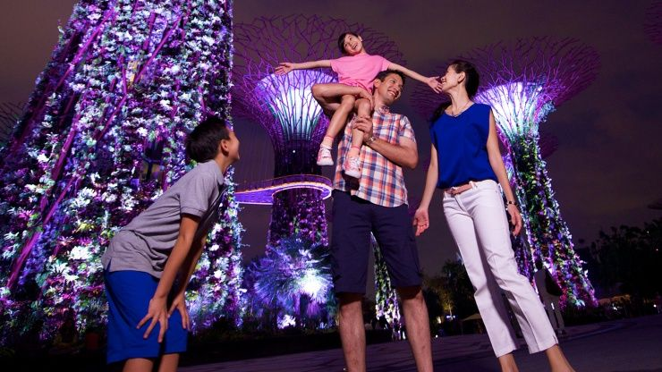 Gardens by the Bay offers an enjoyable time for the entire family