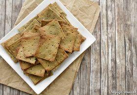 Crackers con farina di quinoa (senza glutine + senza lievito)