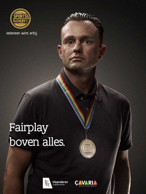 Vlaamse atleten voor diversiteit, tegen homofobie.