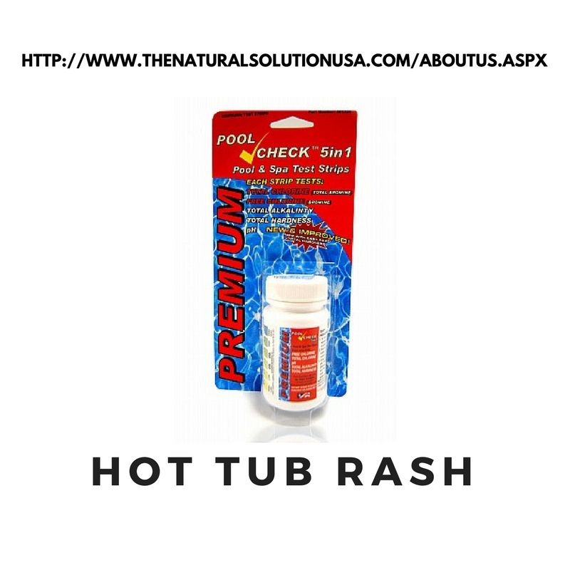 The Development Of Small Bumps On The Skin Called Hot Tub Rash And