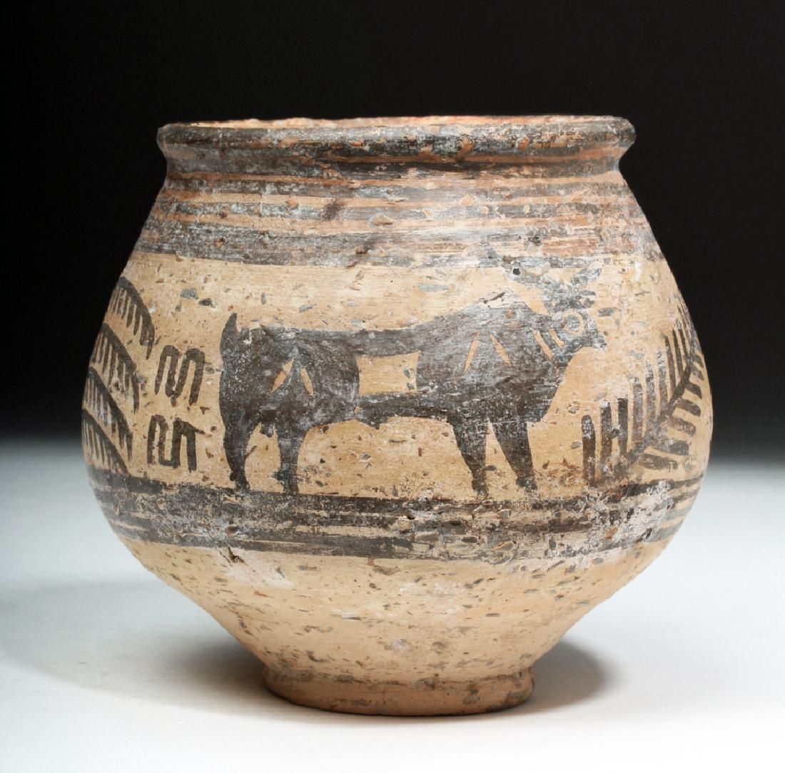 Indus Valley Pottery Jar