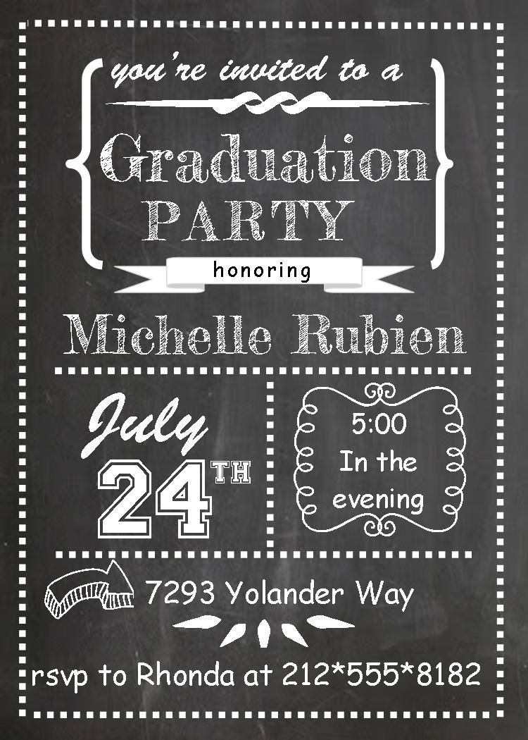 graduation party invitations high school or college graduation party invitations spring 2015