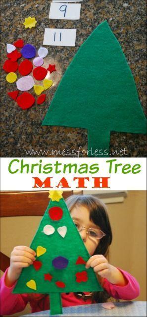 Christmas Tree Math Game Craft Activities For Kids Christmas Crafts For Kids To Make Preschool Christmas