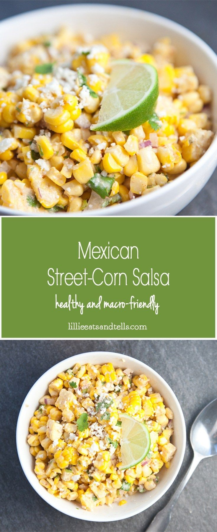 Mexican Street Corn Salsa #mexicanstreetcorn