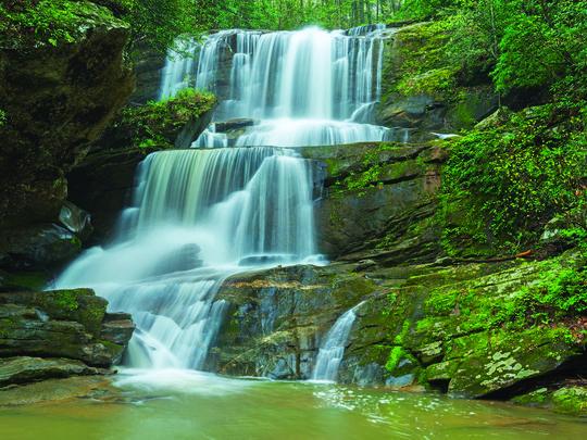 Go Waterfalling With New Waterfall Guide Waterfall North Carolina Waterfalls Waterfall Photo