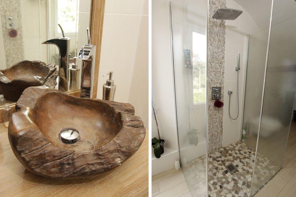 salle de bain exotique douche italienne - Recherche Google ...