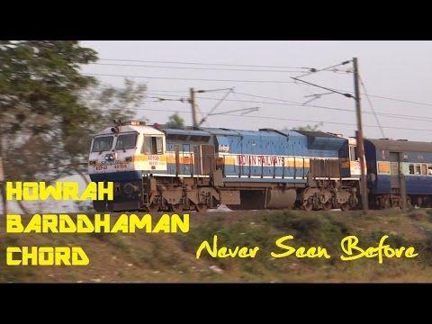 Like NEVER SEEN BEFORE : Trains in Howrah Barddhaman Chord INDIAN RAILWAYS