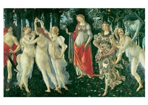 Clementoni Botticelli - Der Frühling