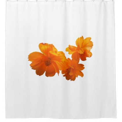 #flower - #Cosmos Charm Shower Curtain