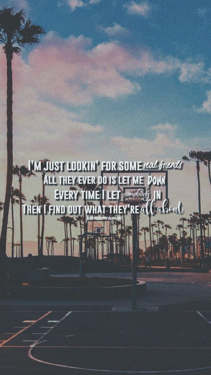 Camila Cabello Real Friends Real Friends Lyrics Quotes About Real Friends Song Lyrics Wallpaper