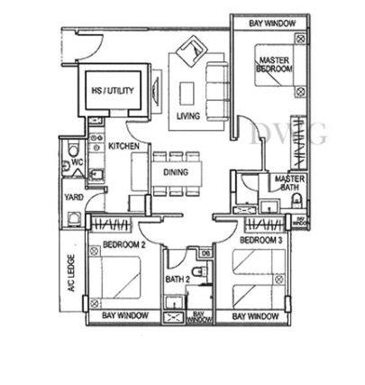 Floor Plan For Atrium Residence Window Master Floor Plans Function Room