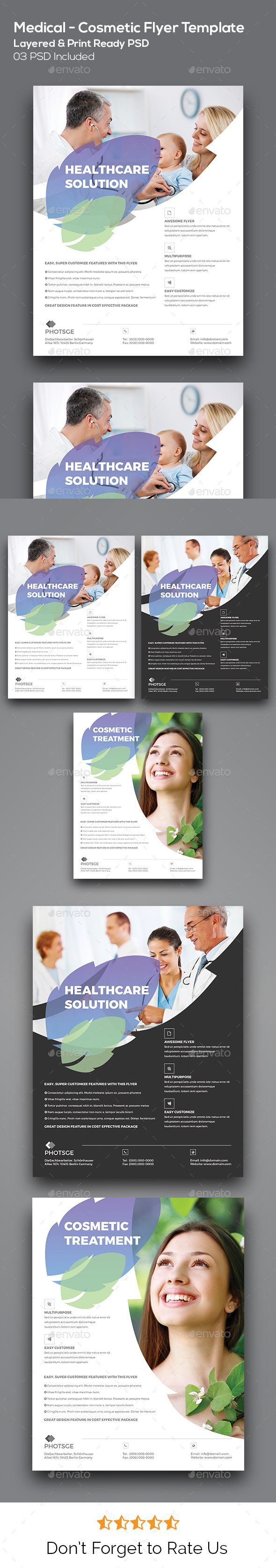 Medical Flyer  Business Flyers Print Templates And Medical