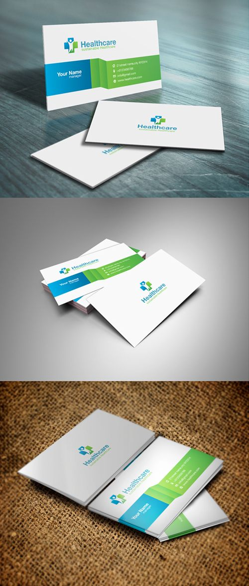 Print Ready Business Cards PSD Templates in 2020 ...