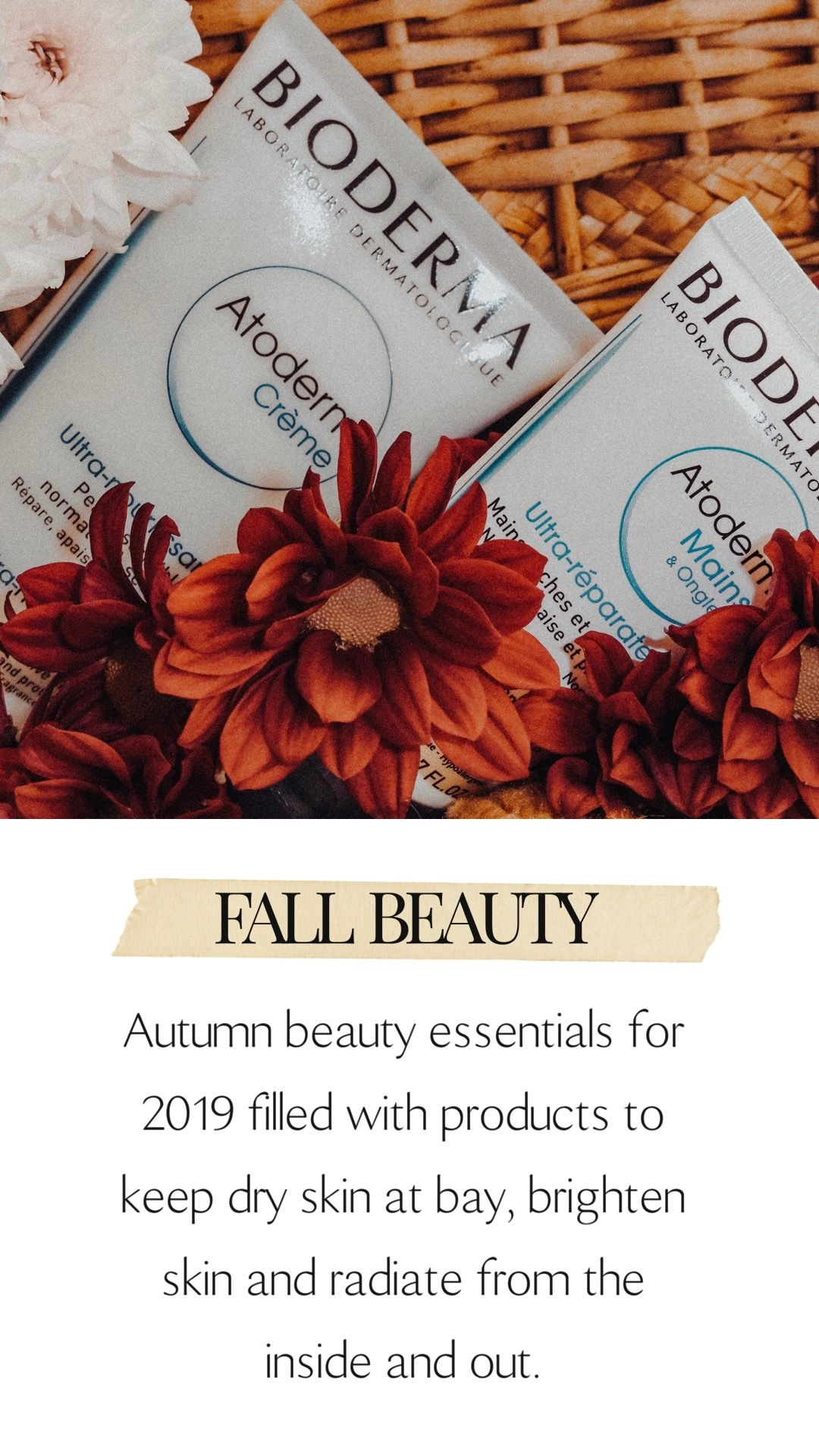 Autumn Beauty Essentials 2019 (With images) Beauty